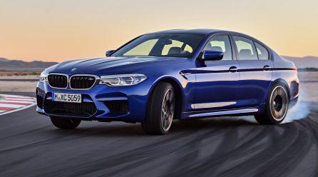 2018 BMW M5 prices announced for Australia, lands Q2