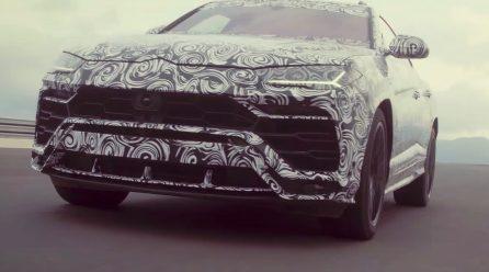 Lamborghini Urus does 0-100km/h in 3.4, 485kW/850Nm V8 confirmed
