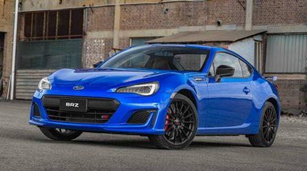 Subaru Australia announces STI-enhanced BRZ tS for MY2018