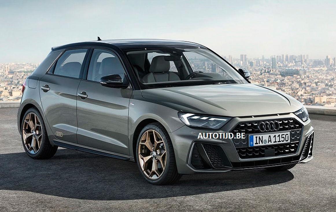 2019 Audi A1 leaks online, looks like a modern rally car