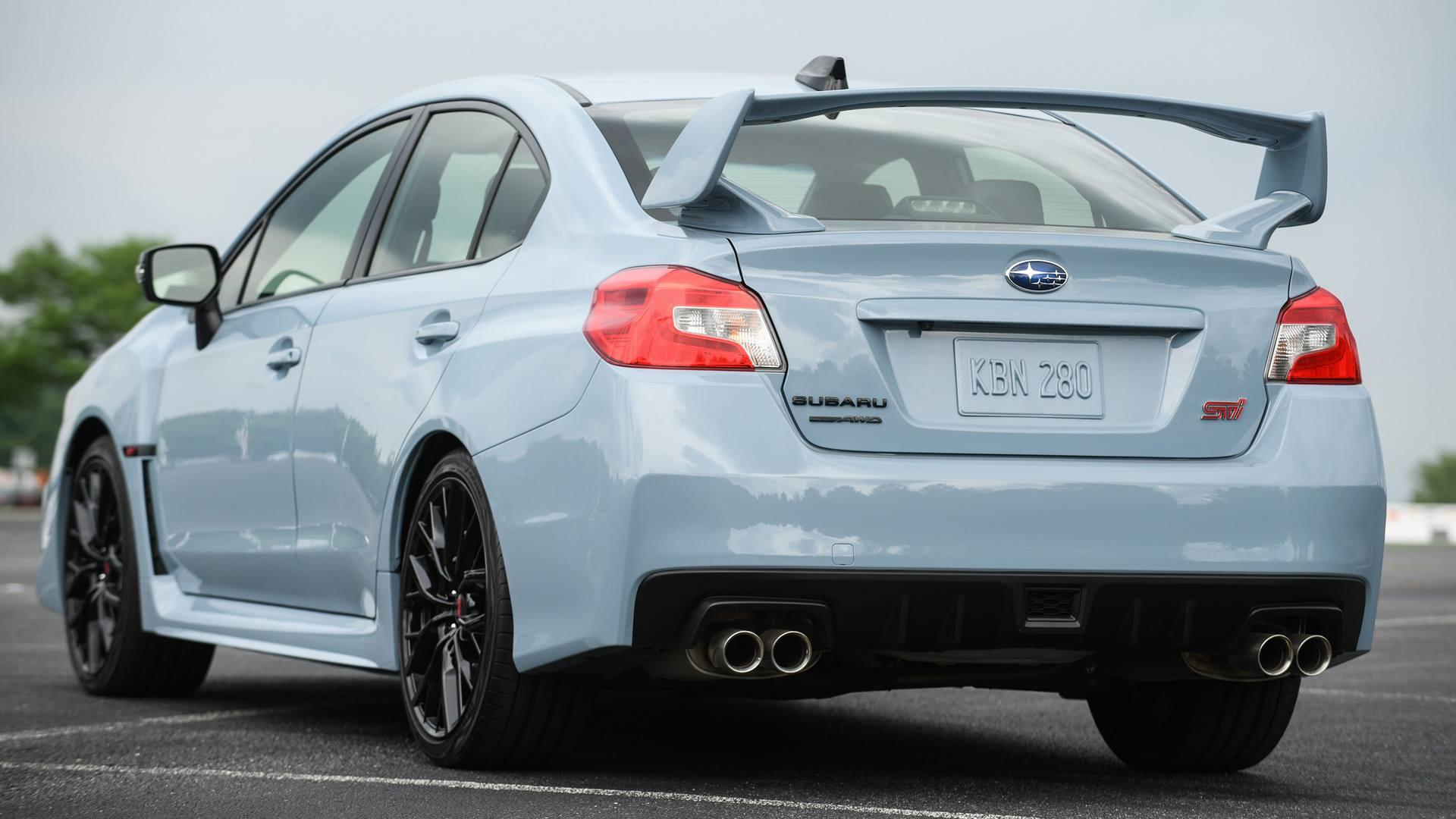 2019 Subaru WRX & WRX STI Series Gray announced in USA