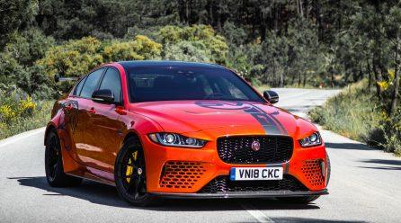 Jaguar XE SV Project 8 production commences, LHD only