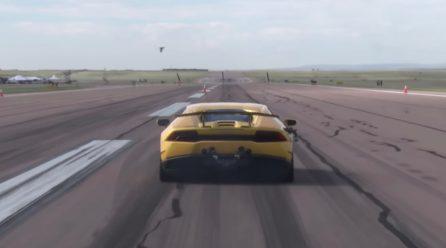 2500hp Lamborghini Huracan breaks 1/2 mile world record (video)