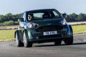 Aston Martin Cygnet V8 is just bonkers