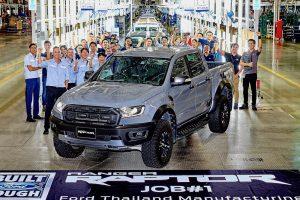 Ford Ranger Raptor production commences, arrives October