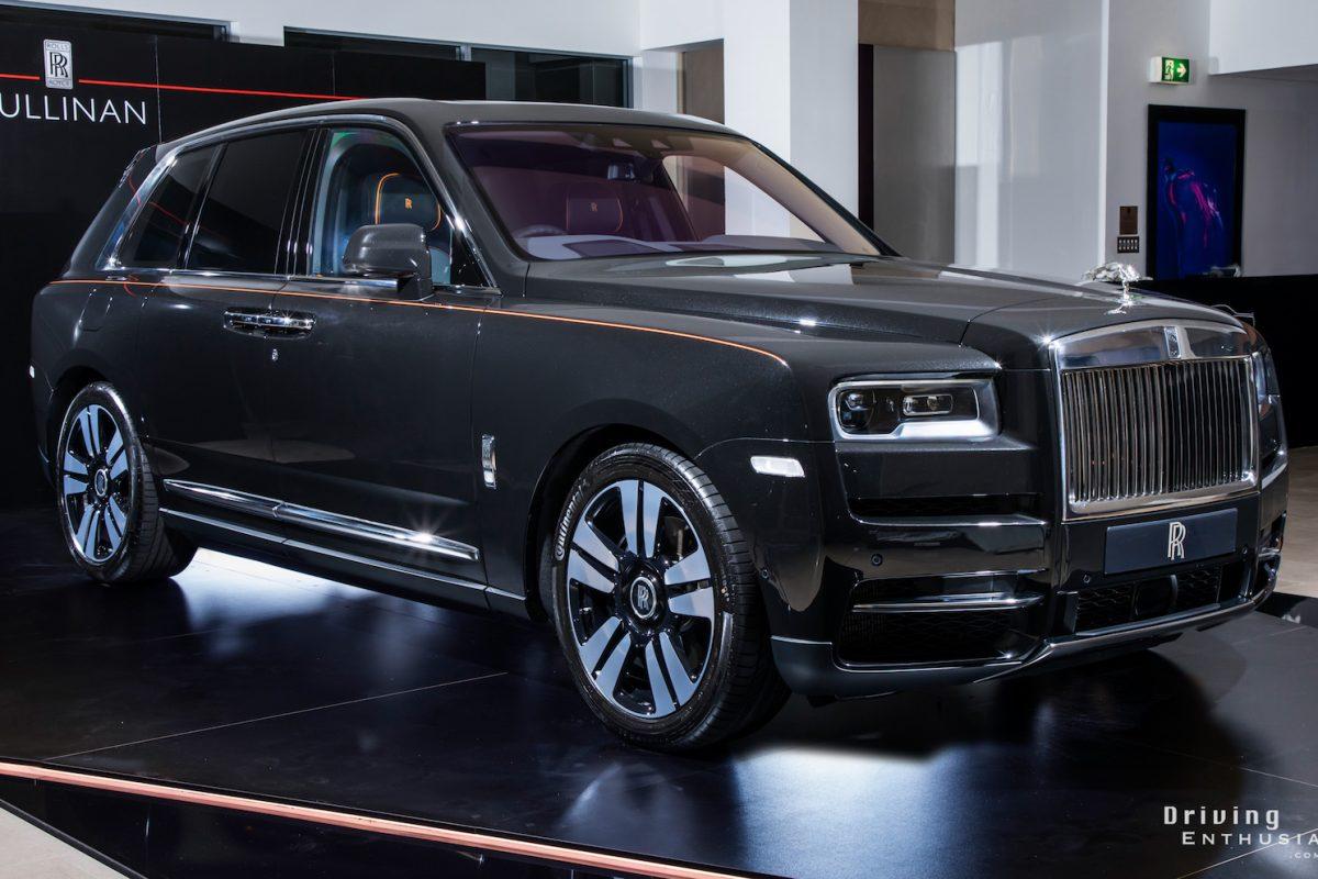 Rolls-Royce Cullinan makes Australian debut in Sydney
