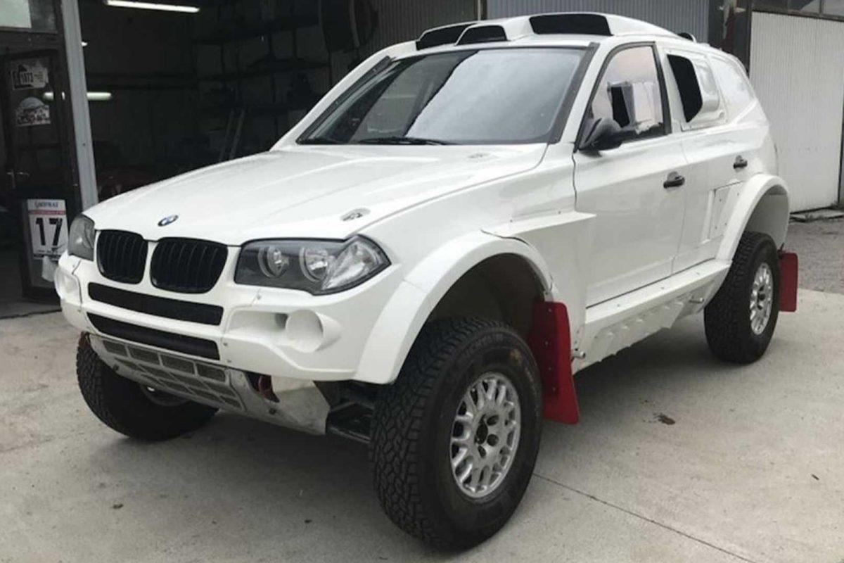 For Sale: BMW X3 Rally Raid car, ready for 2019 Dakar