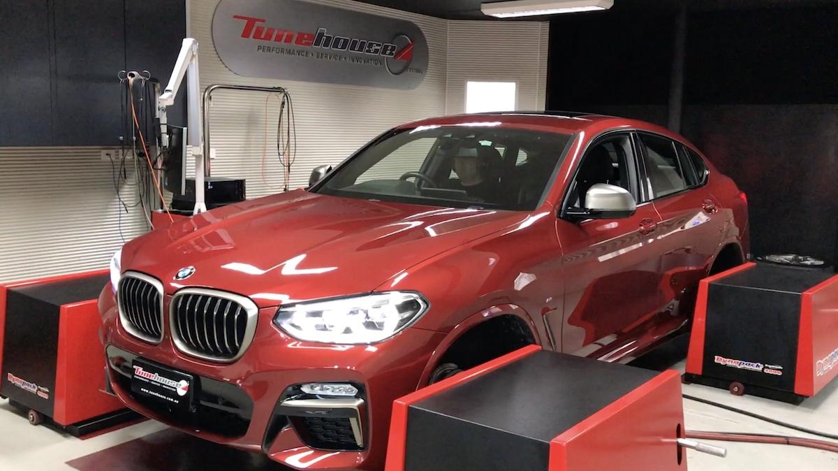 2019 BMW X4 M40i | On the Dyno (video)