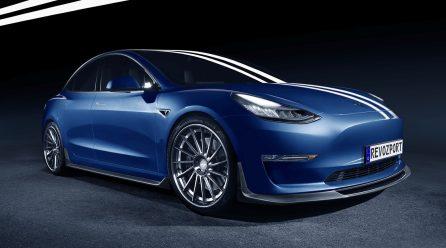 RevoZport develops cool aero kits for Tesla Model 3