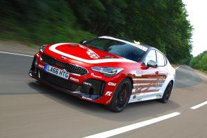 Kia Stinger GT420 concept shows track car potential