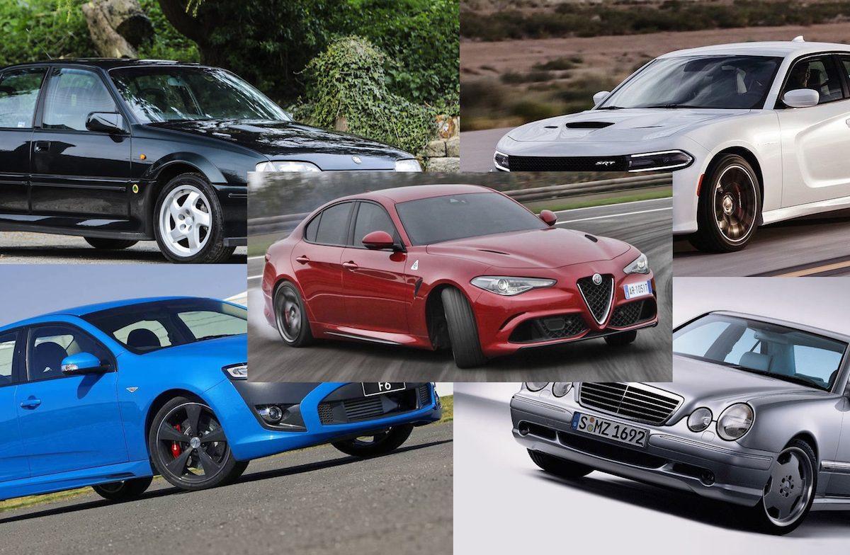 Top 10 best production sports sedans of post-1990s era